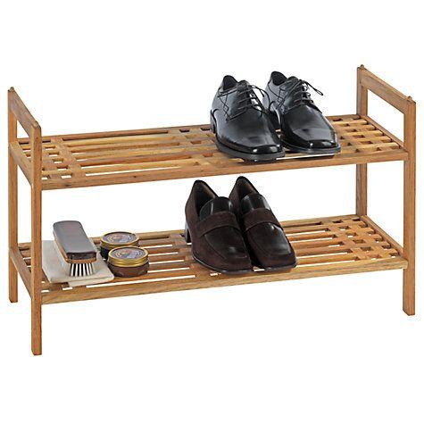 Buy Wenko Norway 2 Tier Stackable Shoe Rack Online at johnlewis.com