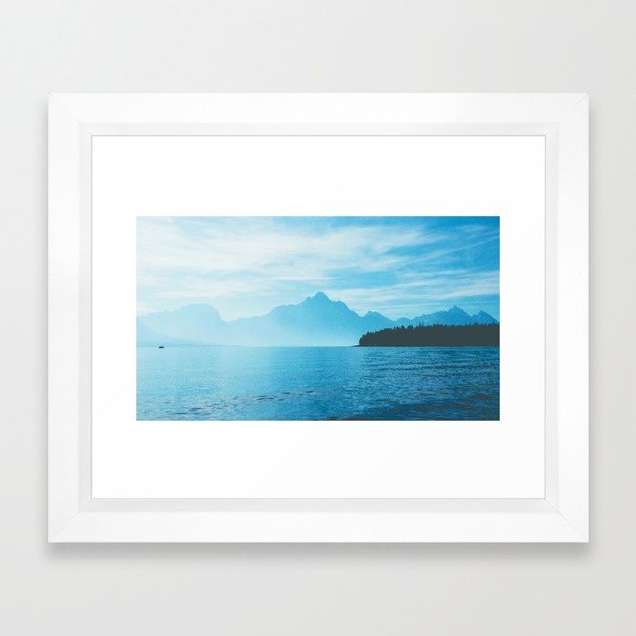 Sail Away With Me Framed Art Print by Mixed Imagery | Society6