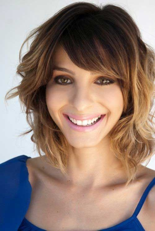 short purple hairstyles : Hairstyles for Women with Short Neck Archives - Haircuts and ...