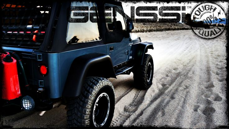 Jeep Wranglers JK TJ YJ with custom light bars, headlights, grilles, hoods and accessories.