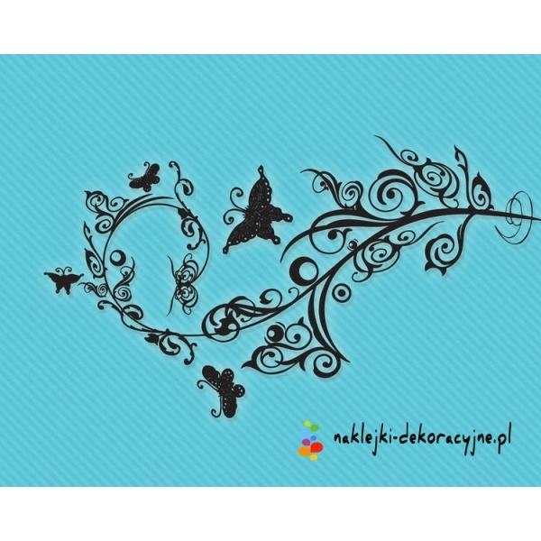 Idealny prezent na urodziny – naklejka dekoracyjna Motylki na kwiatach już od 12.99zł – nie przegap takiej okazji. Wysyłka w 24h.