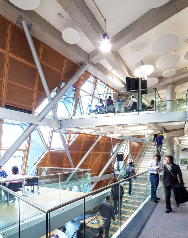 Faculty of Engineering and Computing Building, Coventry University, interior