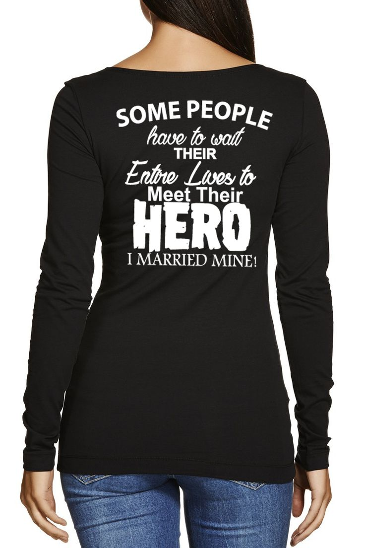 Are You a Military Wife? This Custom Tee Is Made Just for You. Show Your Love and Support.