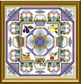 Provence Mandala from Chatelaine Designs
