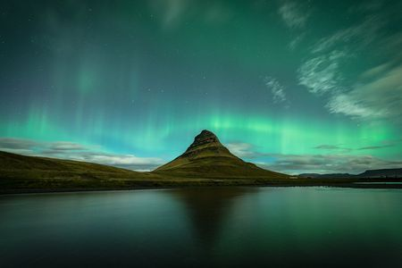 Flaming Kirkjufell Photo by Damon Beckford — National Geographic Your Shot