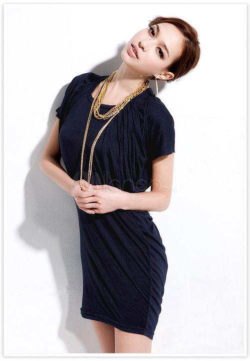 #Milanoo.com Ltd          #Mini Dresses             #Sexy #Royal #Blue #Backless #Pleated #Crewneck #Polyester #Short #Dress      Sexy Royal Blue Backless Pleated Crewneck Polyester Short Dress                                         http://www.snaproduct.com/product.aspx?PID=5757771