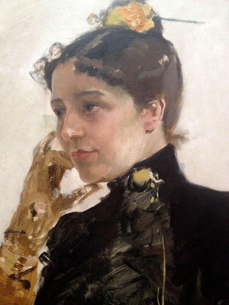 up close with Sorolla, master of light and shadow