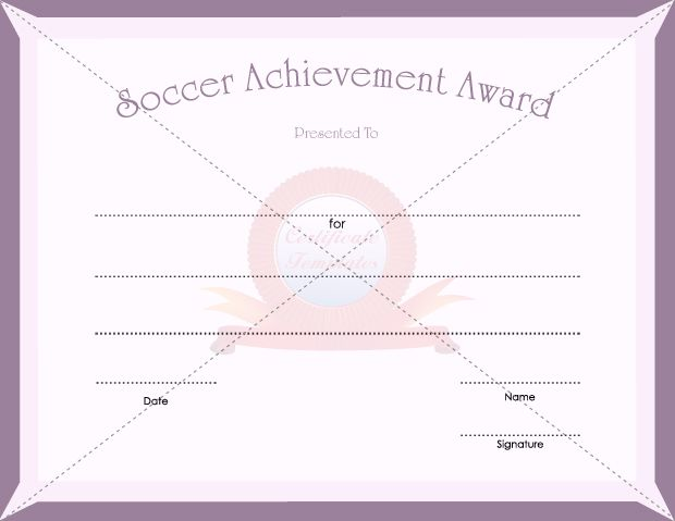 7 best SPORTS CERTIFICATE TEMPLATES images on Pinterest - army certificate of achievement template