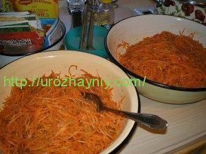 морковка по корейски на зиму