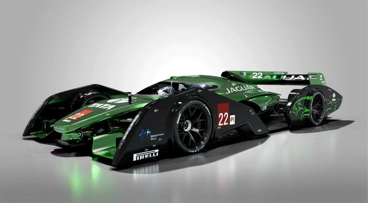 Jaguar LMP1 Concept Car
