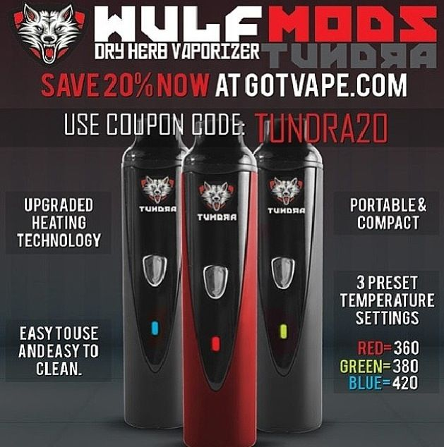 The Tundra Vaporizer Summer Sweepstakes is in full swing, Enter to win your own today: http://woobox.com/y7yde5