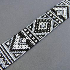 Pattern for Diadem Bracelet with Silky Beads | onlybracelet