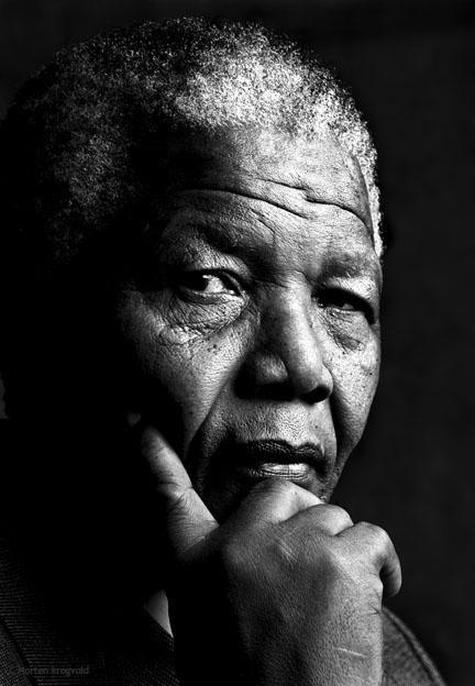 Nelson Mandela - Photo: Morten Krogvold
