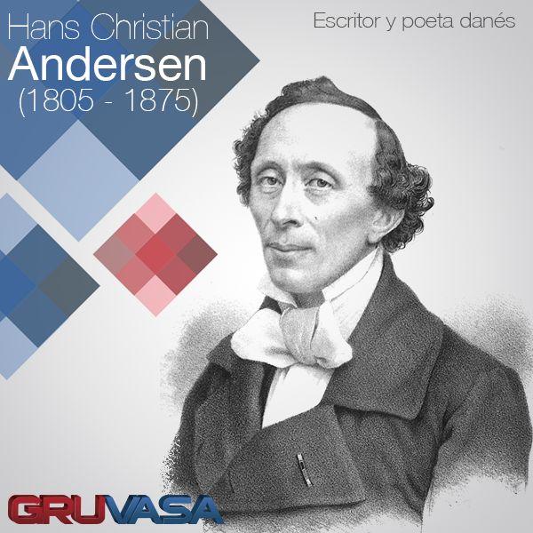 #UnDíaComoHoy 2 de abril pero de 1805, nace Hans Christian Andersen. Autor de afamados cuentos infantiles como «El patito feo», «La Sirenita», «La Reina de las Nieves», «Las zapatillas rojas», entre otros.