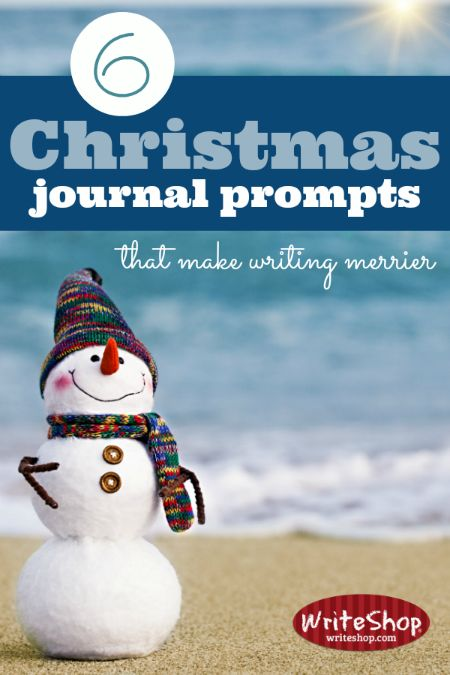 During the holidays, take a break from your regular writing assignments and let the children have some fun with these Christmas journal prompts.