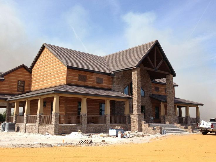 57 best images about everlog siding concrete log homes on for Cabin builders montana