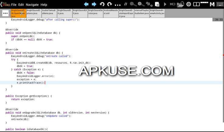 Bright M IDE  Java Android IDE v2.1.0.001