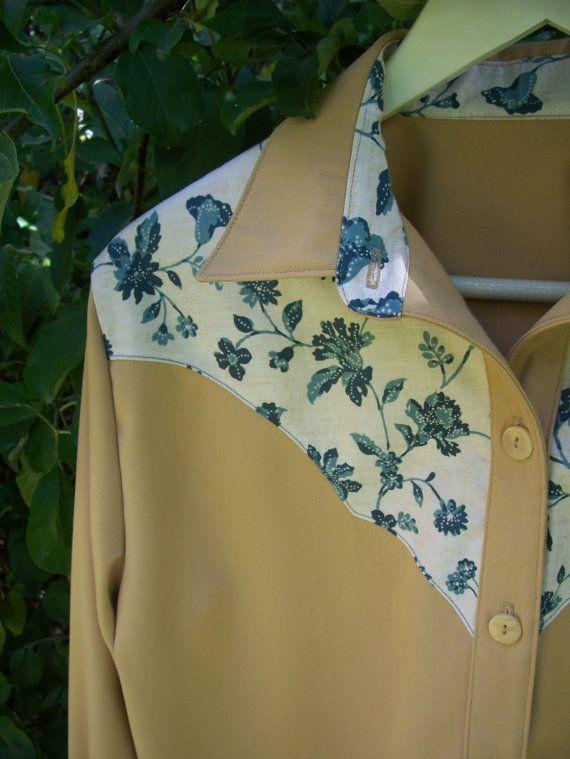 Ladies Western Style Shirt by oldskills on Etsy, $48.00