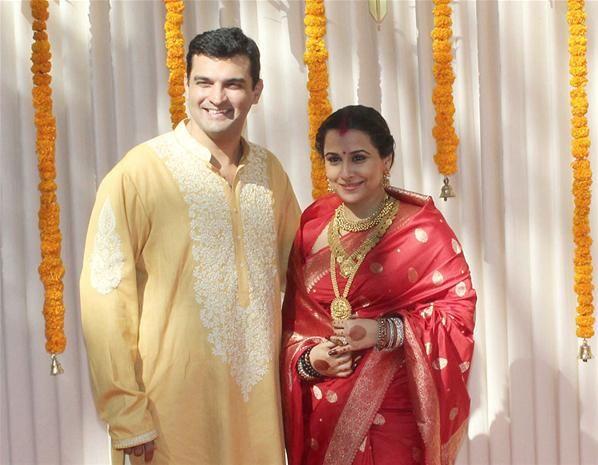 Vidya Balan Wedding Photo