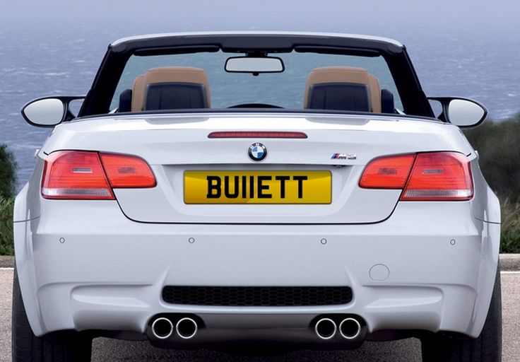 BU11 ETT private plate for sale at