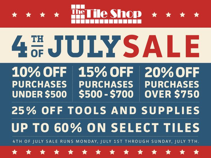 4th of july truck sale