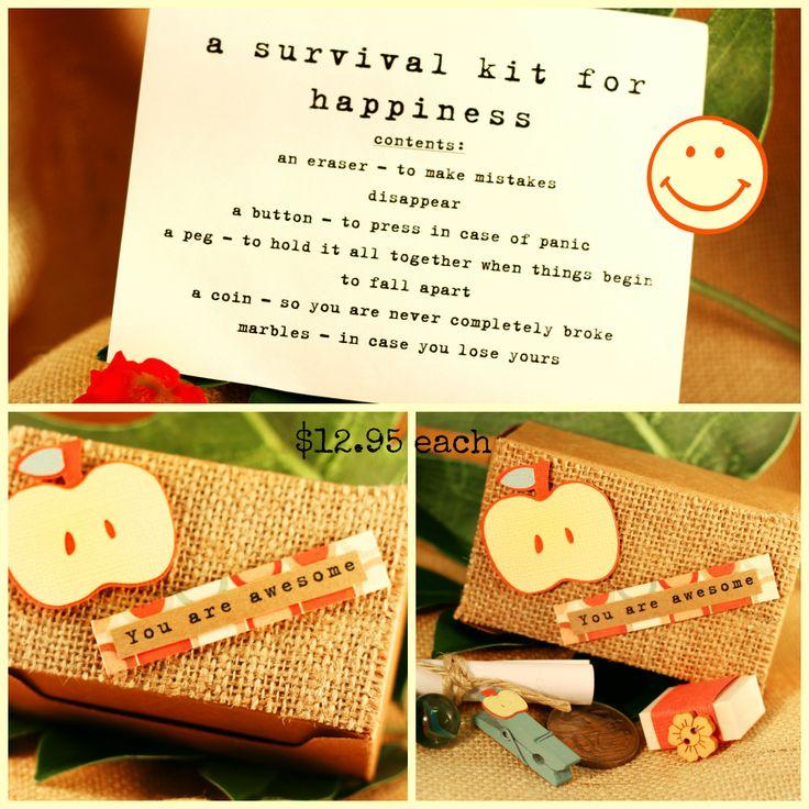 Unique Novelty Survival Kit: Handmade, Lovingly Designed