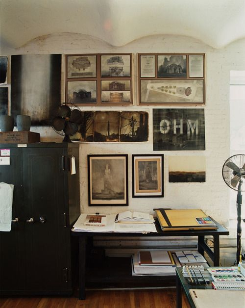 old time workspace