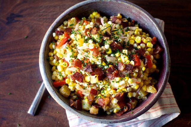 Corn chowder salad | smitten kitchen | Bloglovin'