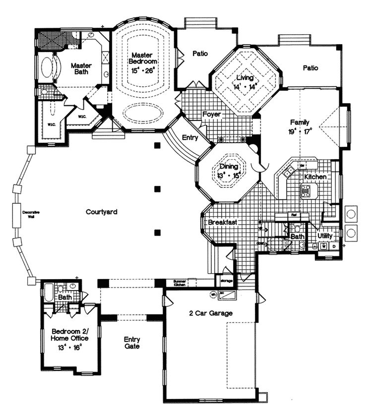 Trenton park tudor style home homes pinterest for Amazing floor plans