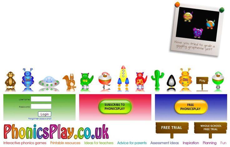 Phonics Play: http://www.phonicsplay.co.uk/