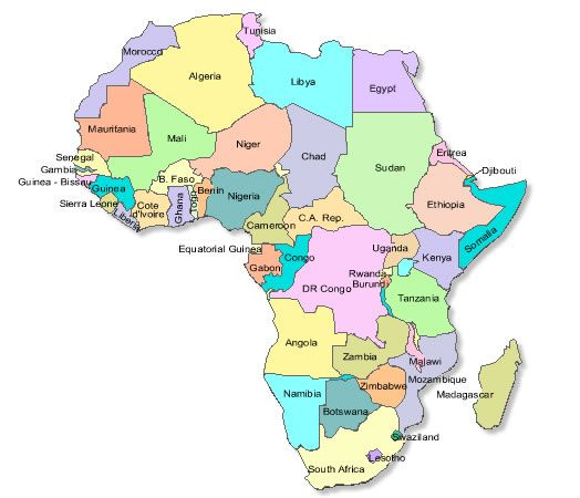 Mapping Africa game, week 16, 17