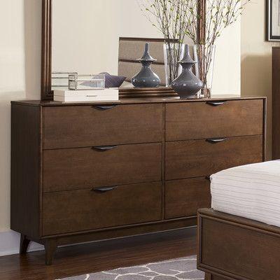 Corrigan Studio 6 Drawer Dresser