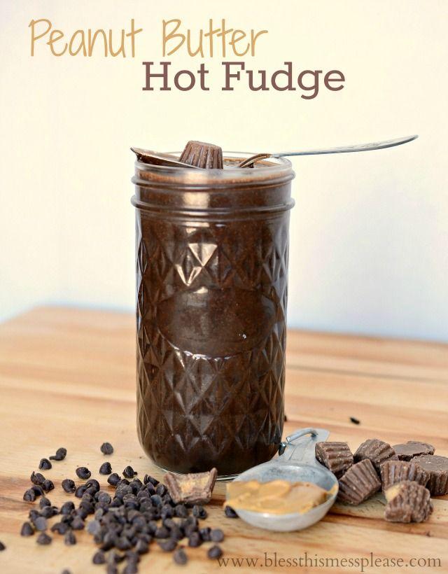 Peanut Butter Hot Fudge Recipe