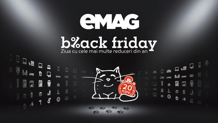 Black Friday 2015 de la eMAG e aici!  Black Friday este ziua cu cele mai mari reduceri din an la eMAG. Televizoare, Mixere, Telefoane, Mașini de spălat rufe, Aparate frigorifice, Laptopuri, Sport, Aragazuri, Tablete, Parfumuri, Epilatoare și ondulatoare, Incorporabile, Bricolaj, Desktop PC, Navigație, Supermarket, Cosmetice, Audio Hi-Fi, Aparate foto, Componente PC, Căști audio,