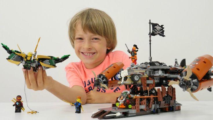 Super oyunlar - Arseny ile Lego NinjaGo Felaket kalesi. Çevrimiçi video ...
