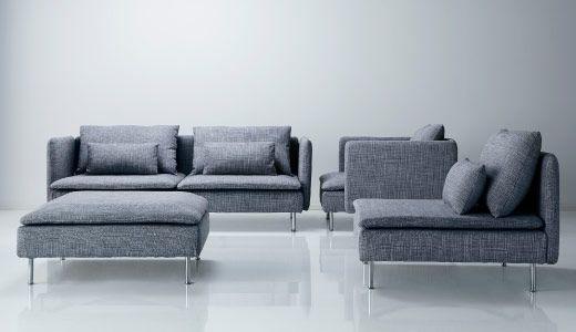 SÖDERHAMN serie - IKEA grijs gemêleerd