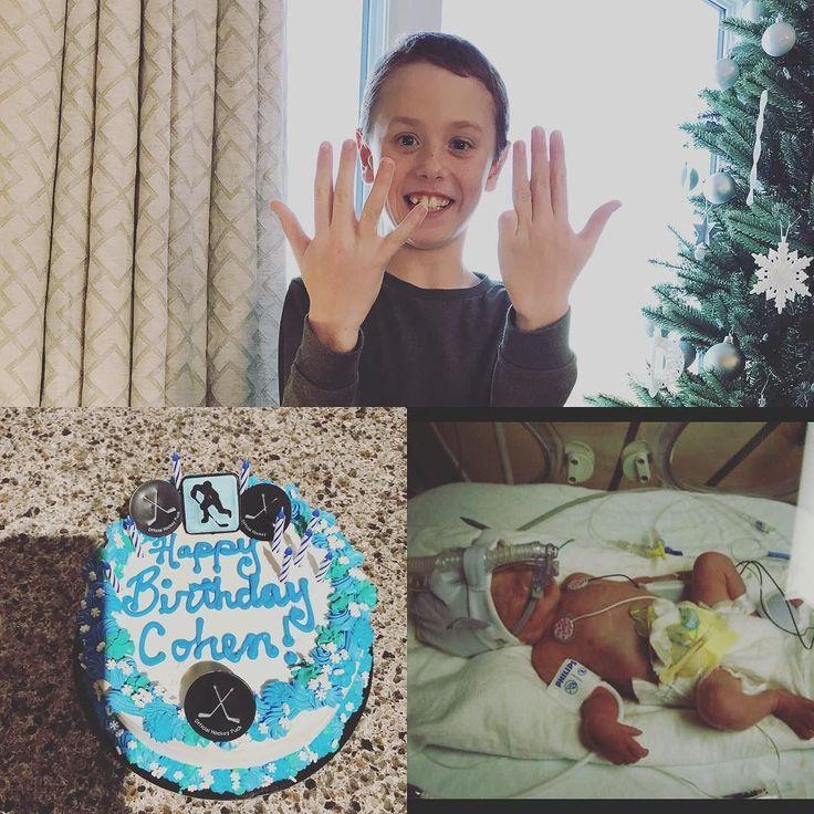 He had a great birthday!! Hard to believe its been 9 years already!! #9yearsold #dec14 #birthday #decemberbaby #preemie #preemiebaby #31weekpreemie #preeclampsia