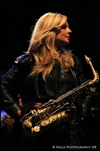Candy Dulfer @Zomerterras 2009 by Nells Photography, via Flickr