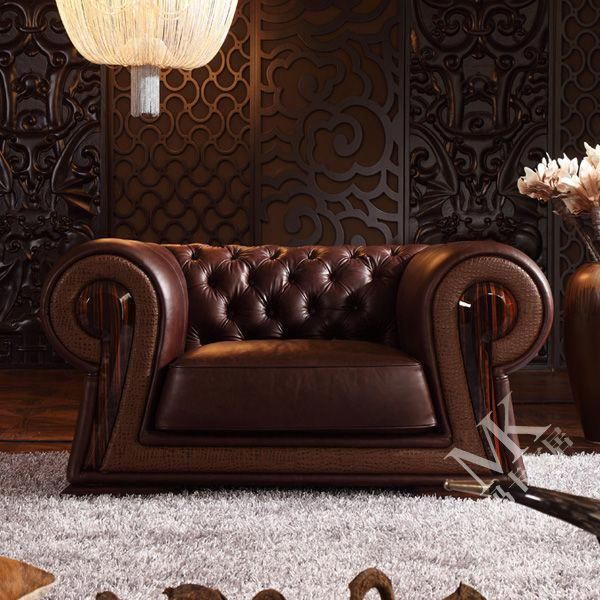 Leather Chesterfield Living Room