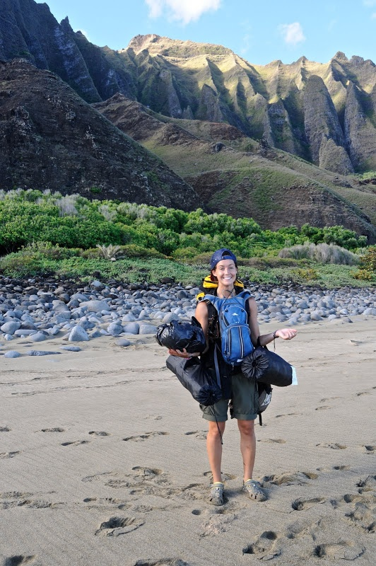 traveling triplets: how to camp backpacking style and other tips
