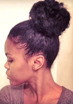 Ask CurlyNikki: How Can I Create a Natural Hair Topknot?
