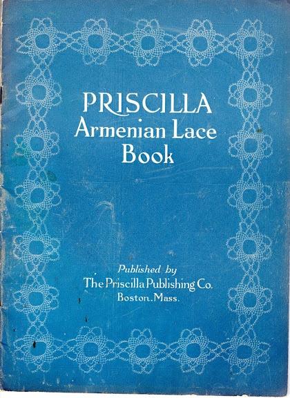 Priscilla Armenian Lace Book, 1923 - Doris - Picasa Web Albums. In the public domain.