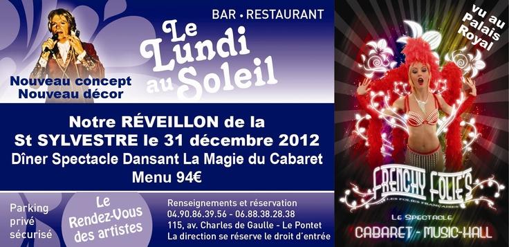 SOIREE DU REVEILLON 2012/2013