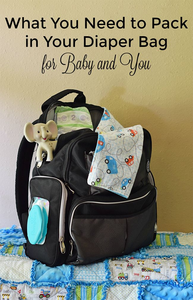 Knowing what to pack in your diaper bag is EVERYTHING when going out with a new baby. Here's a handy checklist for what you need to pack in your diaper bag for baby AND you, whether you're going on a fun day trip with the family or just a quick trip to the store. | client