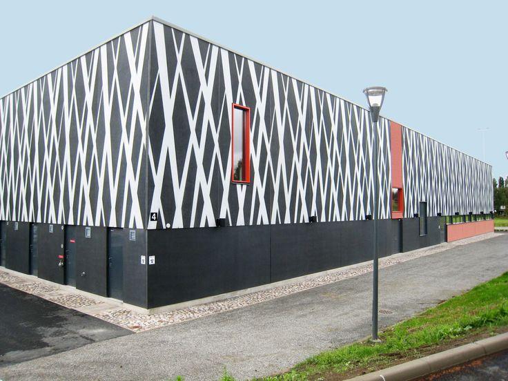 Graphic Concrete reference: Kangasalan Lukio, High School
