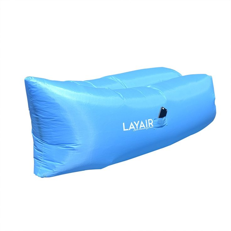 Layair Inflatable Air Lounge Mattress, Blue *** Tried it! Love it! Click the image. : Air Lounges