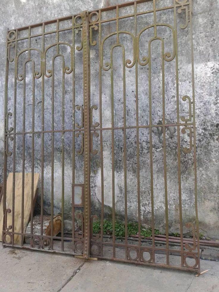 17 mejores ideas sobre rejas en hierro forjado en - Balcones de forja antiguos ...