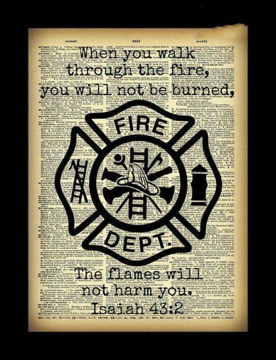 Flames will not burn you