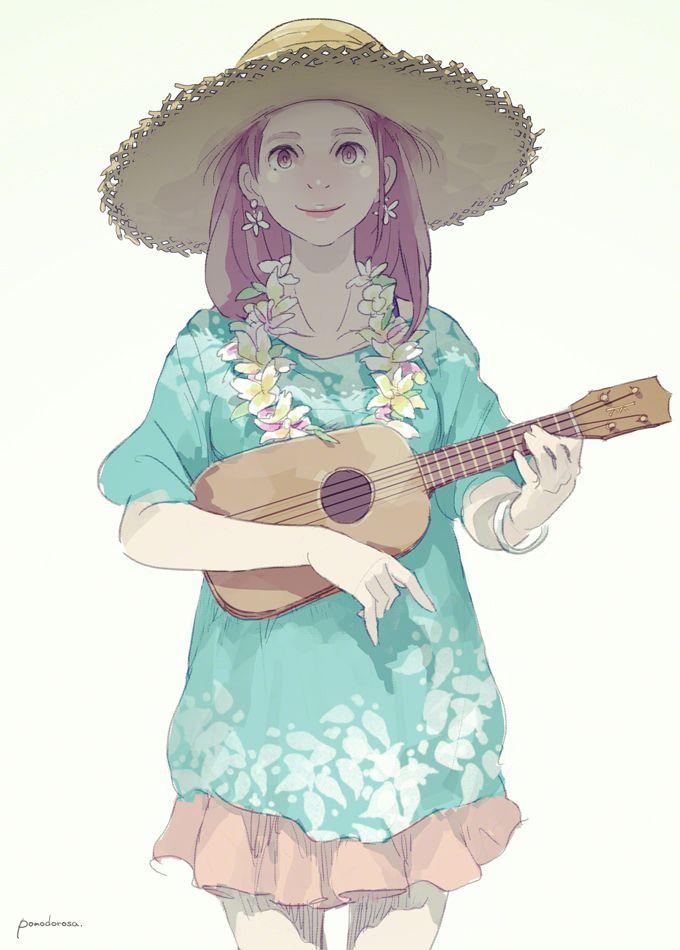 "play a ukulelepomodorosa作品集""Music, Fashion and Girl"" よりhttp://tmblr.co/ZYz8sv1h_DeQk"