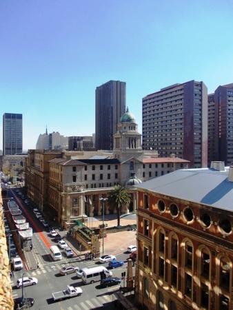 City Hall (now Gauteng Legislature) | facing the old Rissik Street post office.blueplaques.co.za